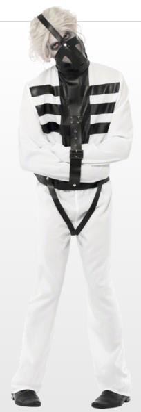 Men's straight jacket costume